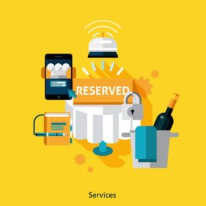 services restaurant app